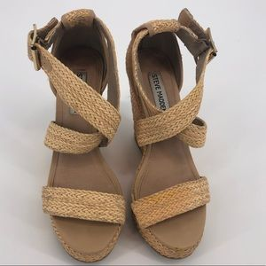 """Steve Madden Haywire Woven 4 1/2"""" Wedges"""